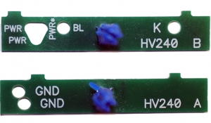 Шаблоны HV-240 (A+B)