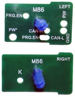 Шаблоны M86 (L+R)